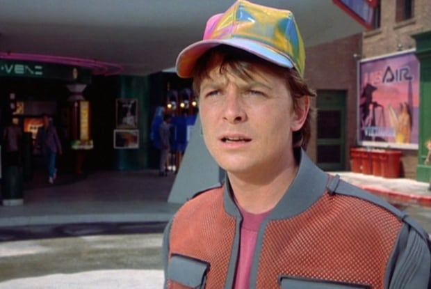 Back to The Future Marty Mcfly Watch Marty Mcfly Doc Brown go Back