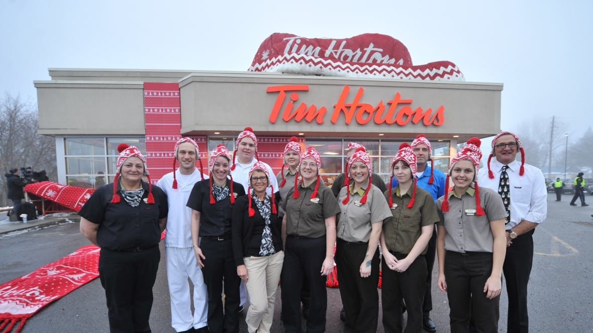 tim hortons warmwishes to fort frances caught on video. Black Bedroom Furniture Sets. Home Design Ideas