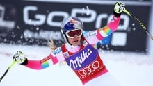 Lindsey Vonn wins women's World Cup downhill in France