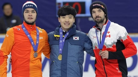 Charles Hamelin, short track speed skater, leads Canada to 2 medals - CBC.ca