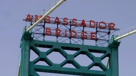 File photo of Ambassador Bridge