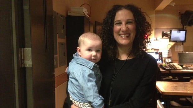 Melanie Atcovitch was asked to leave her husband's citizenship ceremony because her six-month-old baby was babbling.