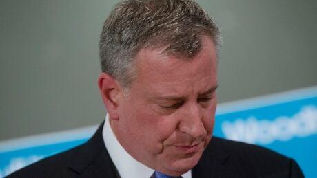 NYPD Officers Shot bill de blasio