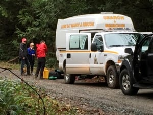 Lions Bay search and rescue