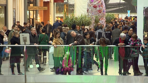 Sure, there will be lots of people at the mall ahead of Christmas. But there will also be lots of people in stores on Boxing Day and in the days leading up to New Year's.