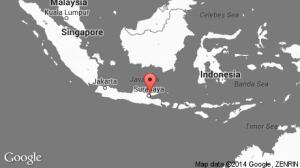 AirAsia flight 8501 map