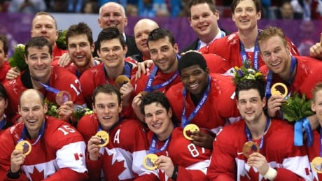 Men's Olympic hockey champs chosen by Canadian Press