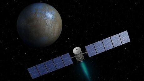 NASA Ceres asteroid Dawn spacecraft