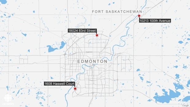 map Edmonton homicides