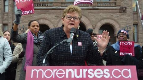 Linda Haslam-Stroud Ontario Nurses Association