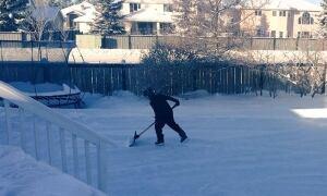 Edmonton in deep freeze