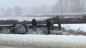 Highway 1 winter storm