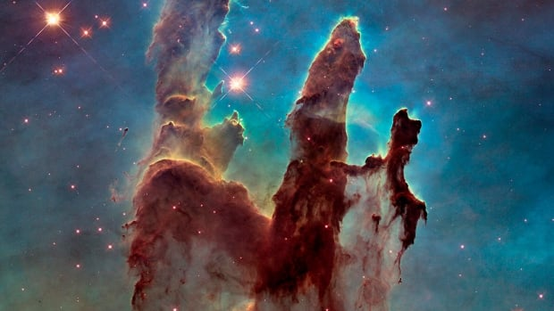NASA has released a new image of the Eagle Nebula's Pillars of Creation, first captured in 1995 by the Hubble telescope.