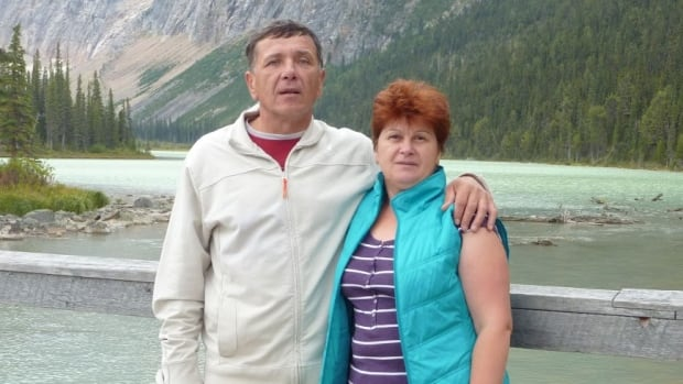 Belarus couple Mikalai and Valiantsina Murashka recently visited Canada, but Valiantsina was denied a flight leaving Edmonton after it discovered her name was spelled incorrectly on her ticket.