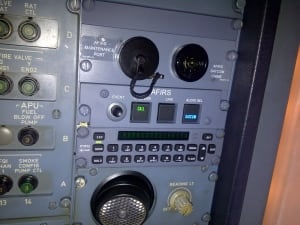 AFIRS in cockpit