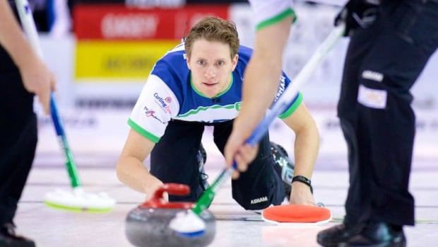 Summerside, P.E.I. curler Adam Casey says the new rules for the Brier are discouraging younger curlers.