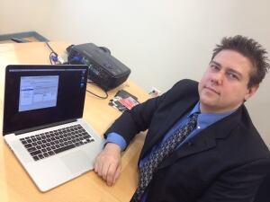 Michael Legary, of Winnipeg-based internet security company Seccuris
