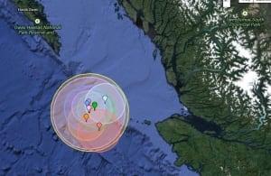 Earthquake cluster