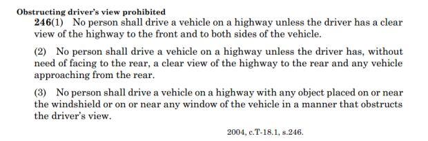 Saskatchewan Traffic Safety Act
