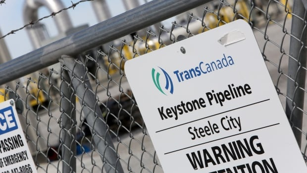 The Keystone XL pipeline would carry 800,000 barrels of crude oil a day from Canada.