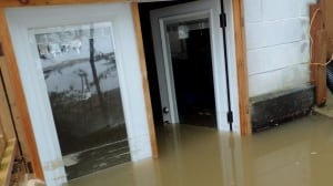 Chelsey Penrice's flooded home - Go Public