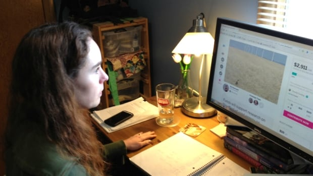 Doctoral student Erin Baerwald hopes to raise $15,000 on a website to fund her research on bat migration.