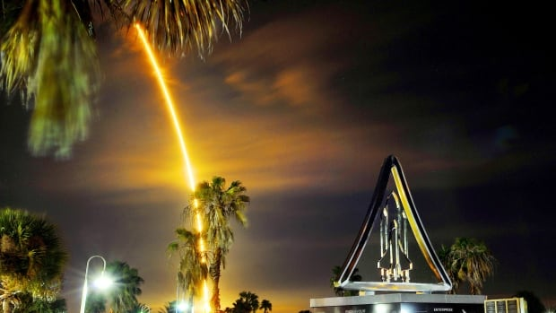 It was a magical moment for a group of B.C. teens as the SpaceX Falcon 9 rocket carrying their experiment streaks into the night sky at Cape Canaveral, Fla., early Saturday. Next stop, the International Space Station.