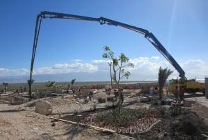 Mass grave in Haiti