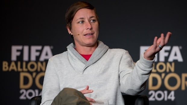 U.S. forward Abby Wambach discussed the latest on FIFA's turf stance for the Women's World Cup prior to the Ballon d'Or Gala in Zurich.