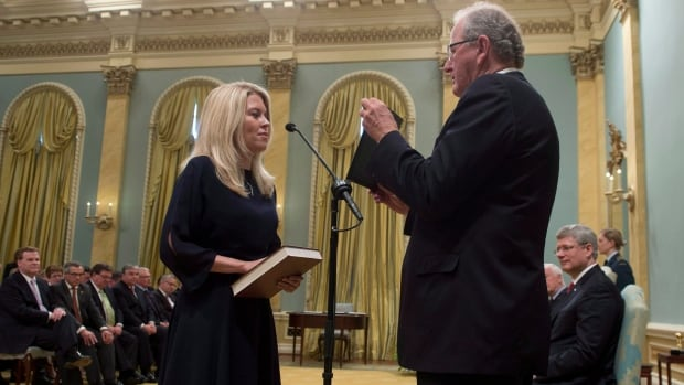 Conservative cabinet minister Michelle Rempel was one of 76 women elected in 2011, a record number of female MPs. Rempel was sworn in as the minister of state for western economic diversification  on July 15, 2013.