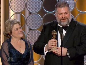 Dean DeBlois accepts Golden Globes Award