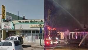 Roxy theatre fire