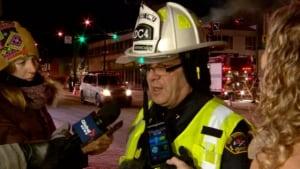 Deputy Fire Chief Barry Lamb