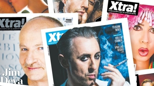 A series of Xtra covers. The paper will no longer publish in print format starting in February.