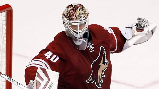 The Coyotes have traded goalie Devan Dubnyk to the Wild.