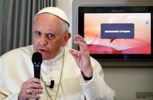 Pope Francis flight PHILIPPINES/