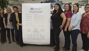 Yukon College signs Canada Indigenous Education Protocol