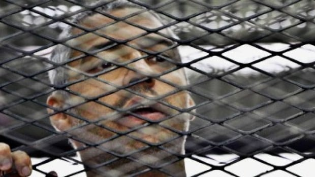 Egyptian-Canadian journalist Mohamed Fahmy was sentenced to at least seven years in prison on terrorism-related charges last year in a trial derided as a sham by human rights organizations.