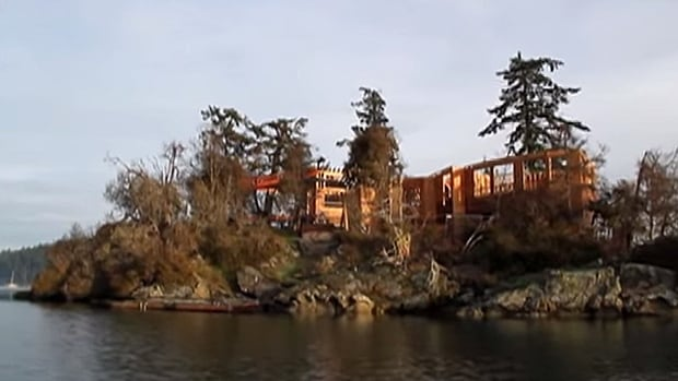 The construction of a house at Grace Islet on the site of a First Nations burial ground has been stopped after the province stepped forward to buy the property.
