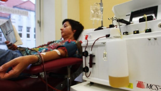 CUPE wants plasma-for-cash banned in Saskatchewan.