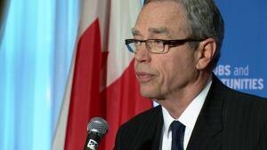 Joe Oliver in Calgary