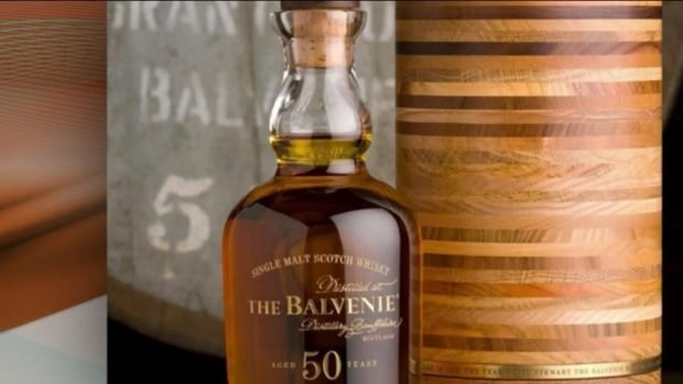 "Balvenie spokeswoman Beth Havers says this bottle of Fifty is the ""pinnacle"" of what they make at their distillery."