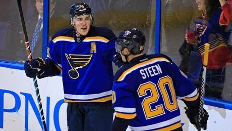 Blues Shutout Slumping Leafs
