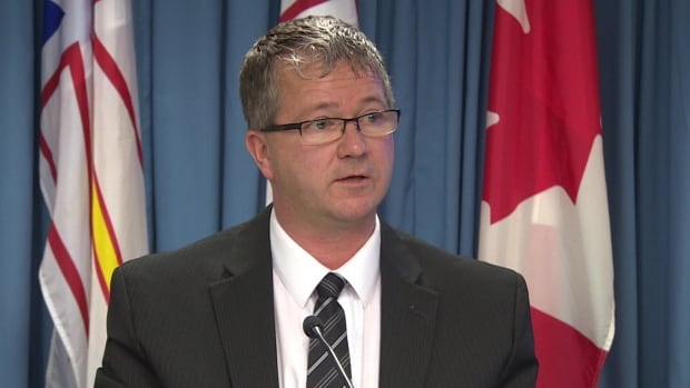 Darin King's office sent out a letter on Monday, announcing the province's intentions to suspend trade negotiations with the federal government.