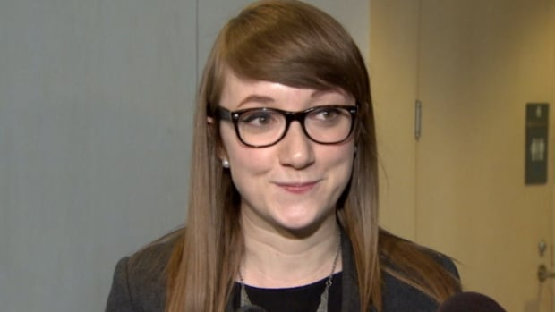 Edmonton Youth Council chair Claire Edwards said provincial action on gay-straight-alliances is needed now. The council is calling for more consultation and an overhaul of Bill 10 before the next provincial election.