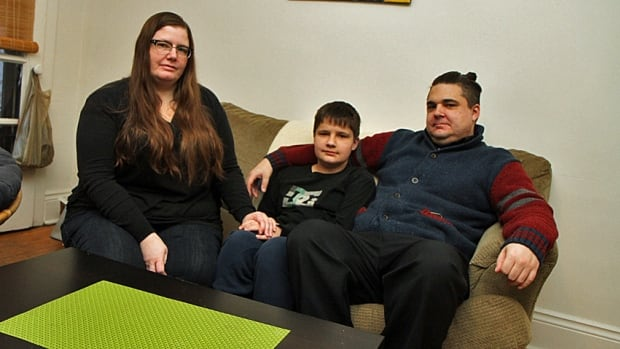 Joey Nichol (left) and David Pace-Bonello (right) have spent years fighting with the Hamilton Wentworth School Board in an attempt to get their son Julian tested for a learning disability.