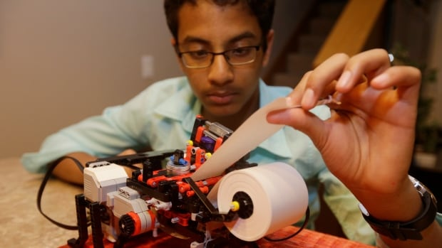 Shubham launched a company to develop a low-cost machine to print Braille materials for the blind.