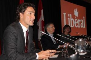 Justin Trudeau, caucus