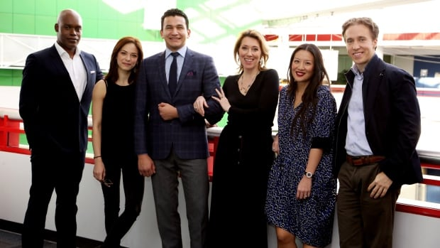 Canada Reads 2015 kicks off four days of literary debate on Monday. Meet this year's panellists, from left, Cameron Bailey, Kristin Kreuk, Wab Kinew, Martha Wainwright, Elaine 'Lainey' Lui, and Craig Kielburger.