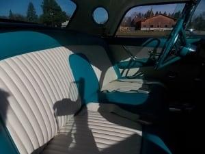 t-bird interior